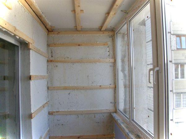 Отделка балкона пошаговая инструкция пластиком